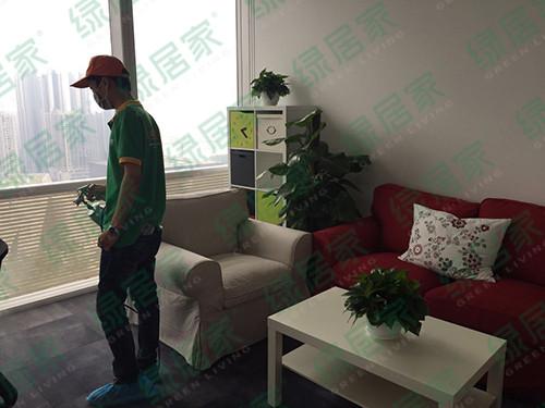 绿居家•珠江新城小米公司室内污染治理